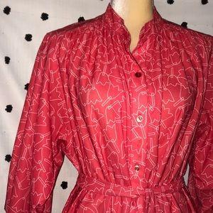 Vintage Signor California Tulip Dress